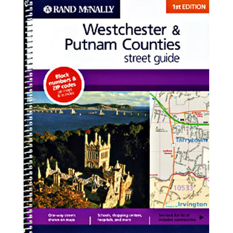 Westchester & Putnam Counties Street Guide (1st)