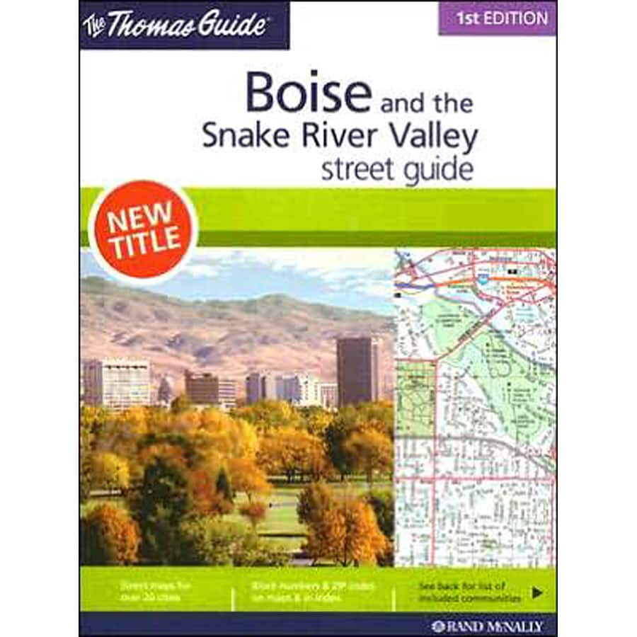 Boise and The Snake River Valley Street Guide (1st Ed.)