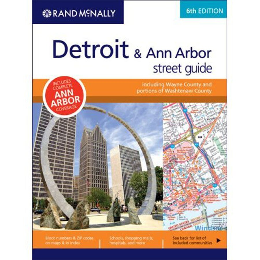 Detroit & Ann Arbor Street Guide (2008 Ed.)
