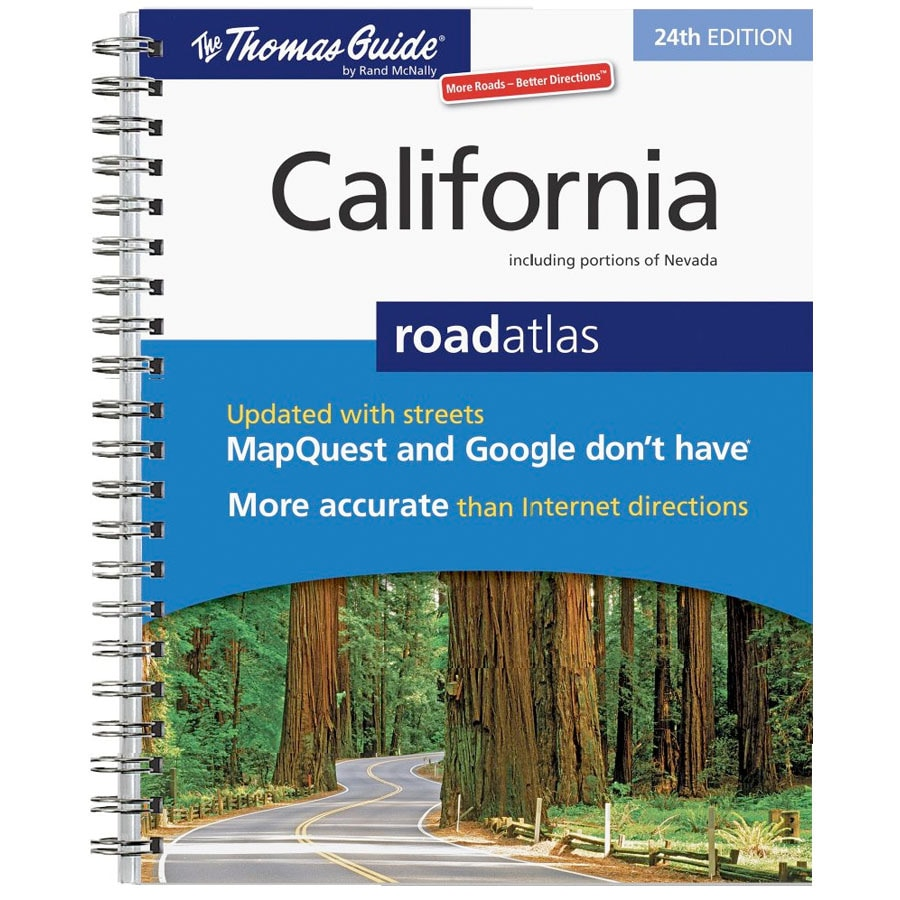 California Road Atlas 24th Ed Thomas Guide