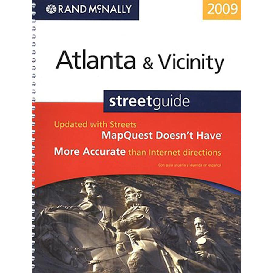Atlanta and Vicinity Street Guide (2009 Ed.)