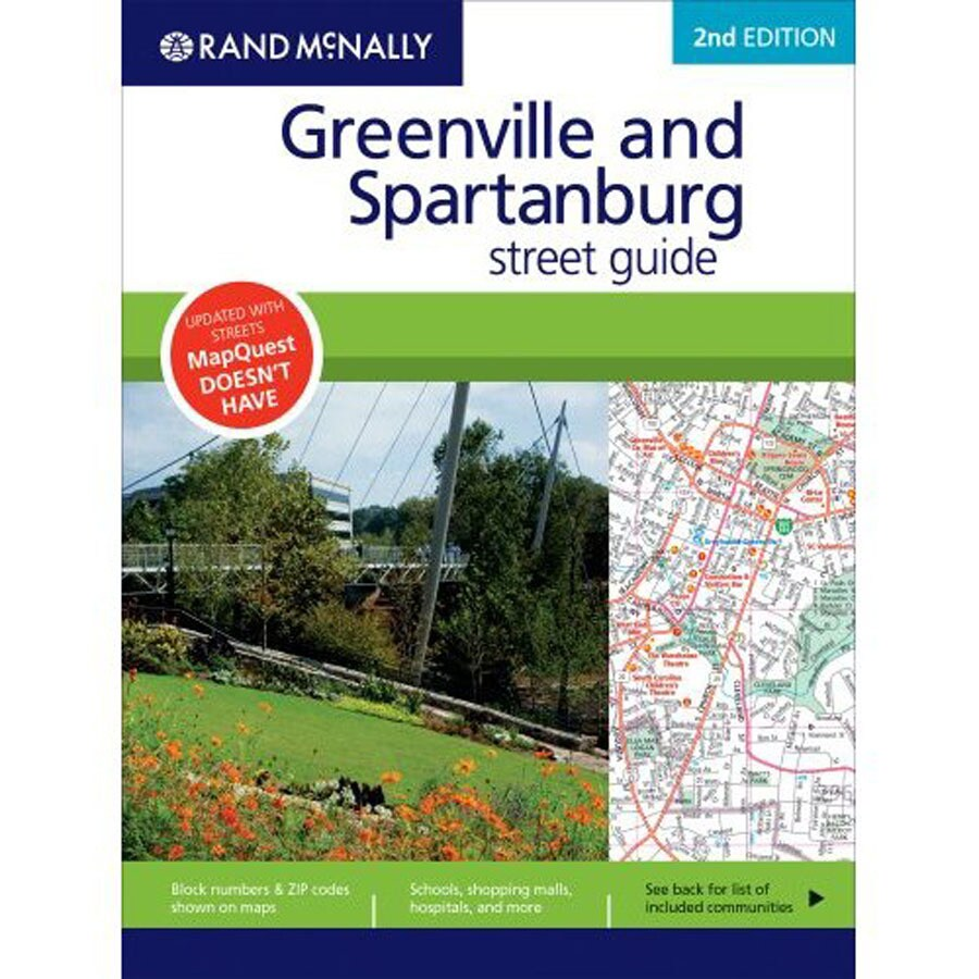 Greenville/Spartanburg Street Guide (2008 Ed.)
