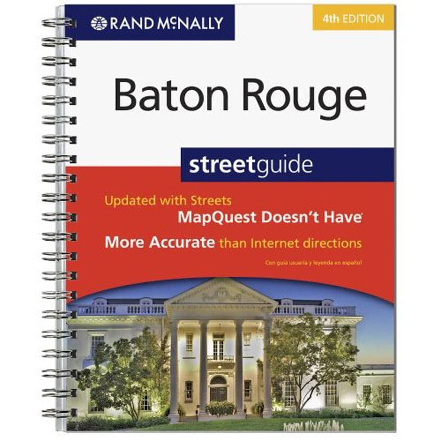 Baton Rouge Street Guide (4th Ed.)