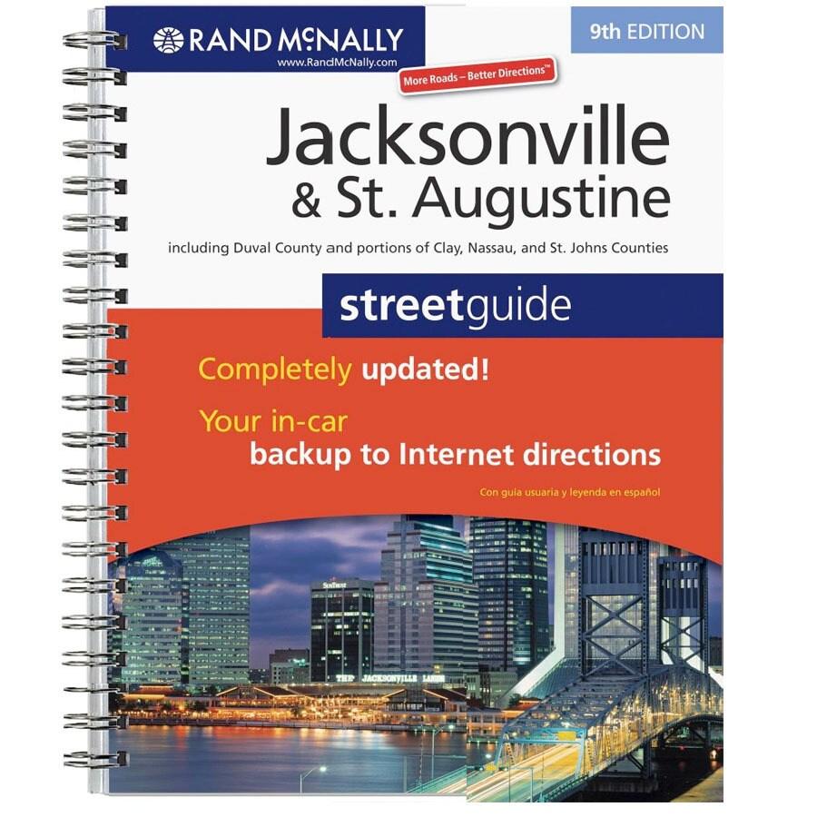 Jacksonville & St. Augustine Street Guide (9th Ed.)