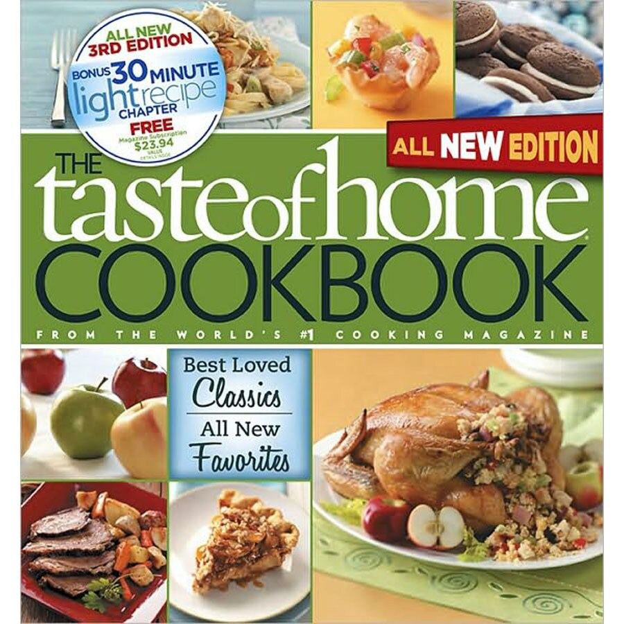 Taste of Home Cookbook