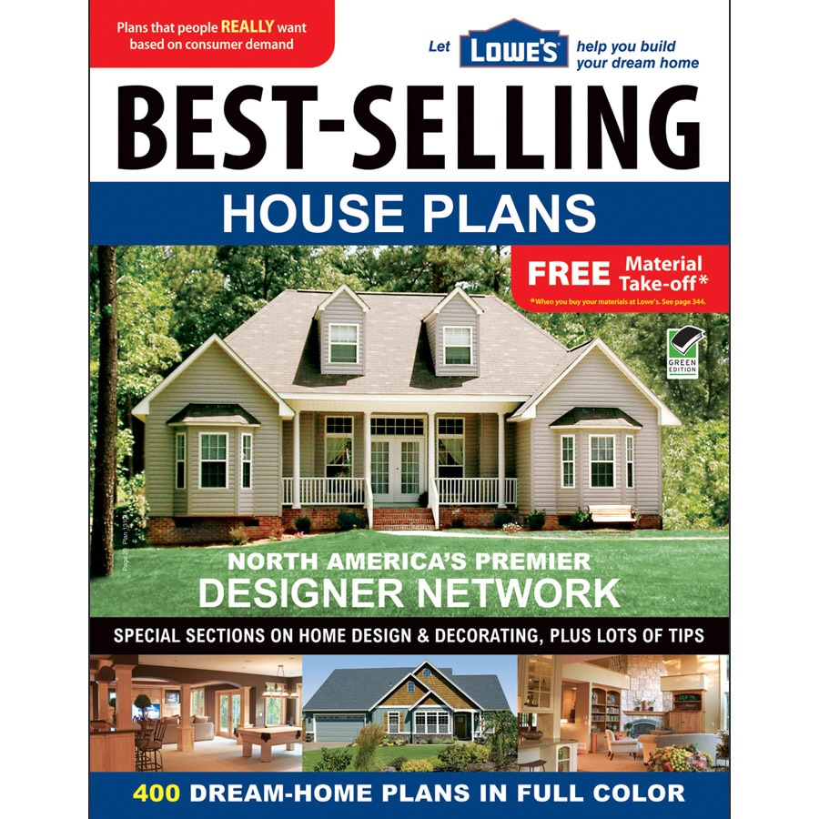 Shop lowe 39 s best selling house plans at for House selling design