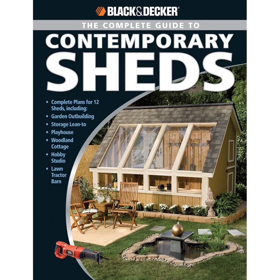 Black and Decker Contemporary Sheds