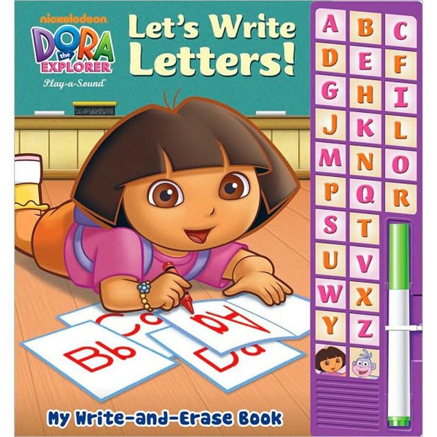 Dora Let's Write Letters!