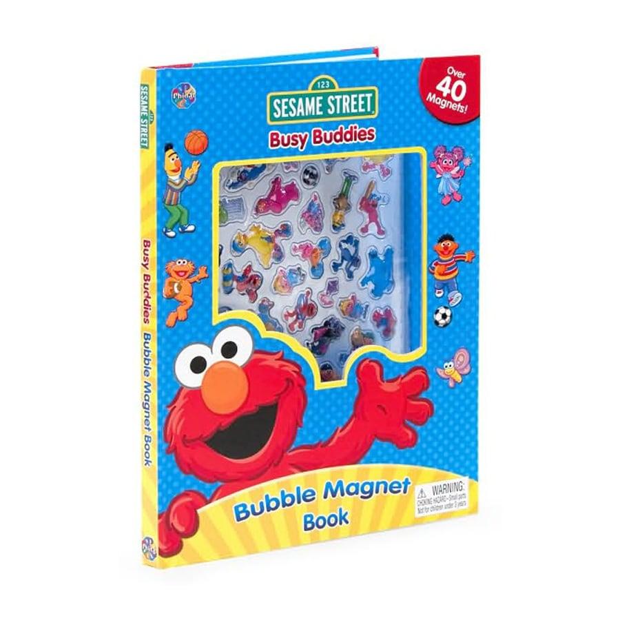 Sesame Street Bubble Magnet Book