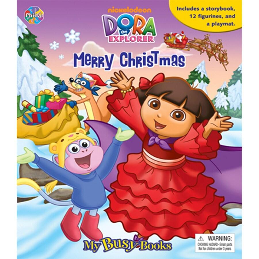 Dora the Explorer Merry Christmas Book
