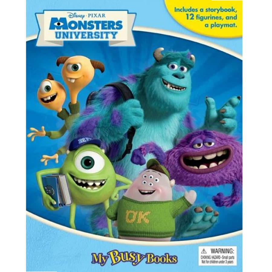 Monsters University My Busy Books