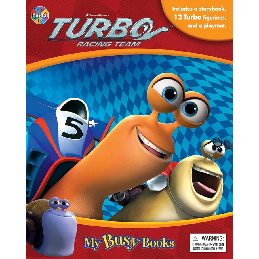 Turbo Racing Team My Busy Books