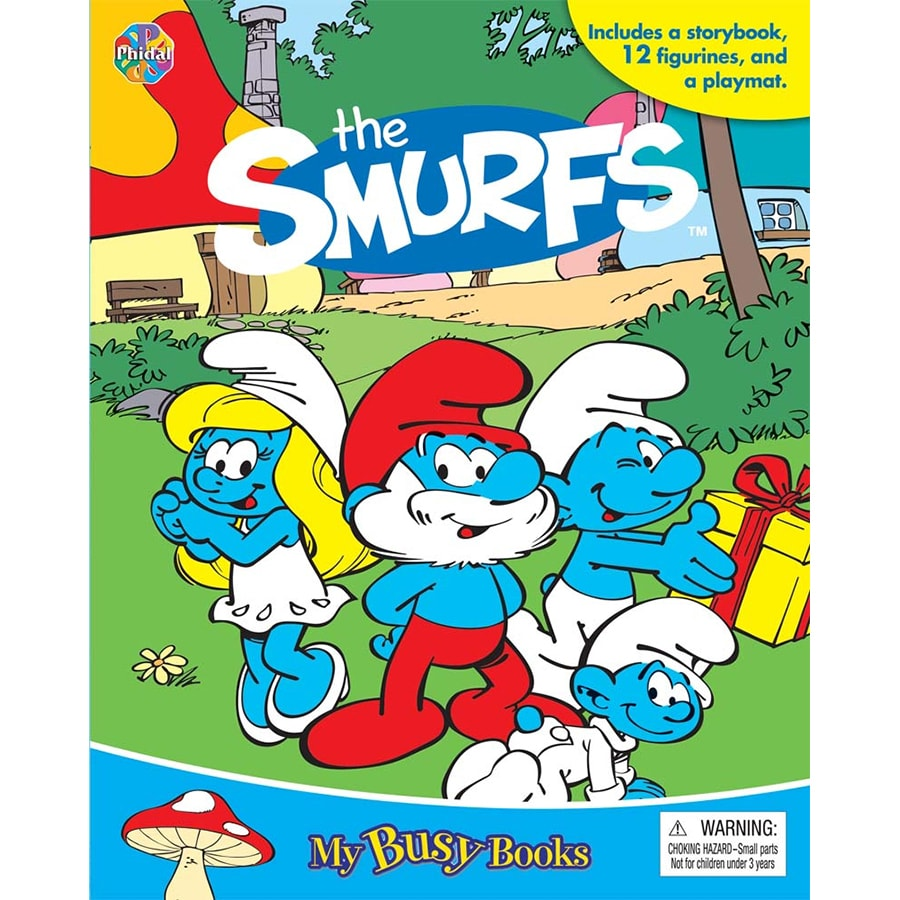 The Smurfs My Busy Books