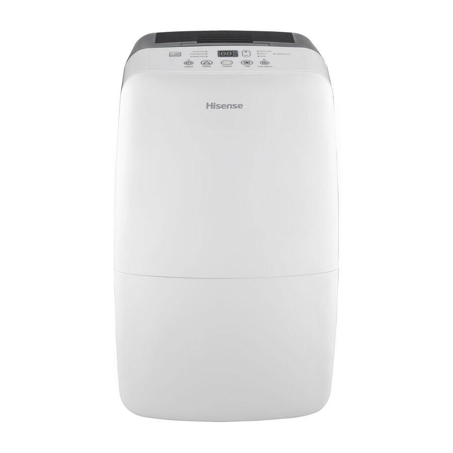 Hisense 50-Pint 2-Speed Dehumidifier ENERGY STAR