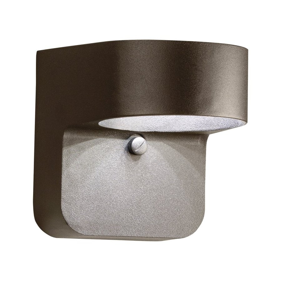 Kichler Lighting 5.5-in H LED Textured Architectural Bronze Dark Sky Outdoor Wall Light
