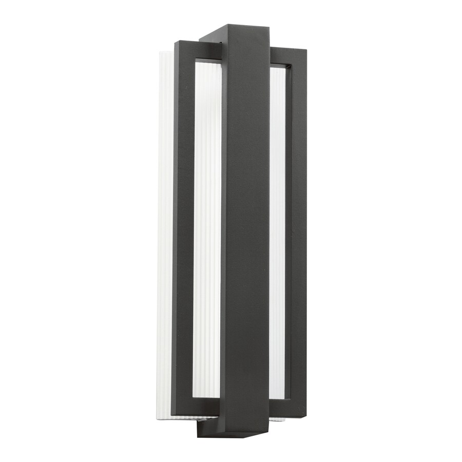 Kichler Lighting Sedo 18.25-in H LED Satin Black Outdoor Wall Light
