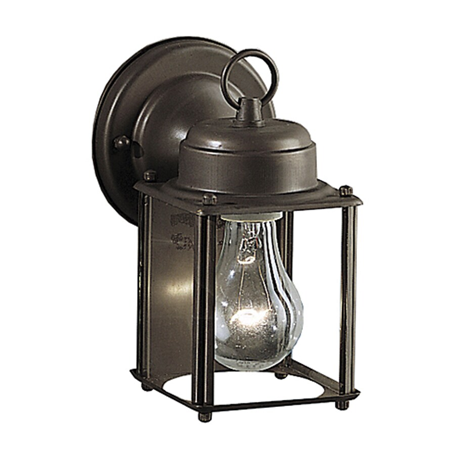 Kichler Lighting New Street 8.25-in H Olde Bronze Outdoor Wall Light