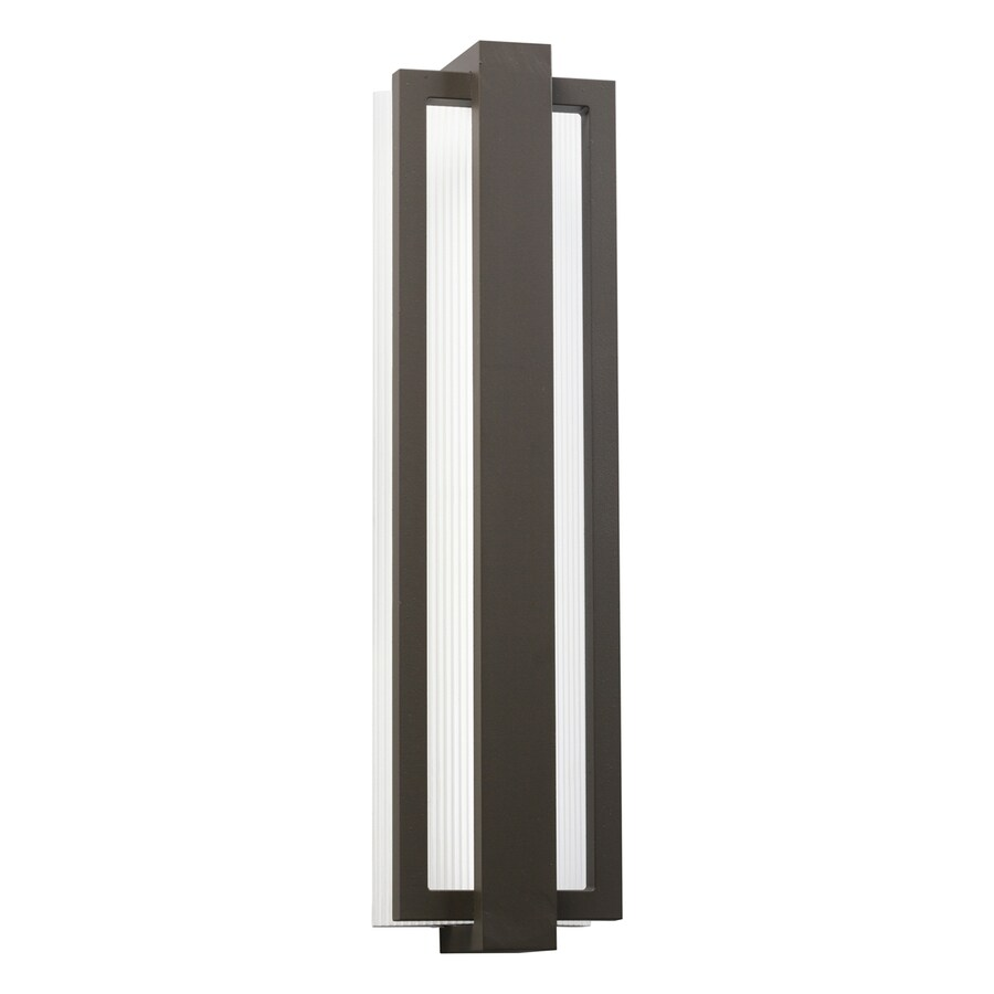 Kichler Lighting Sedo 24.25-in H LED Architectural Bronze Outdoor Wall Light