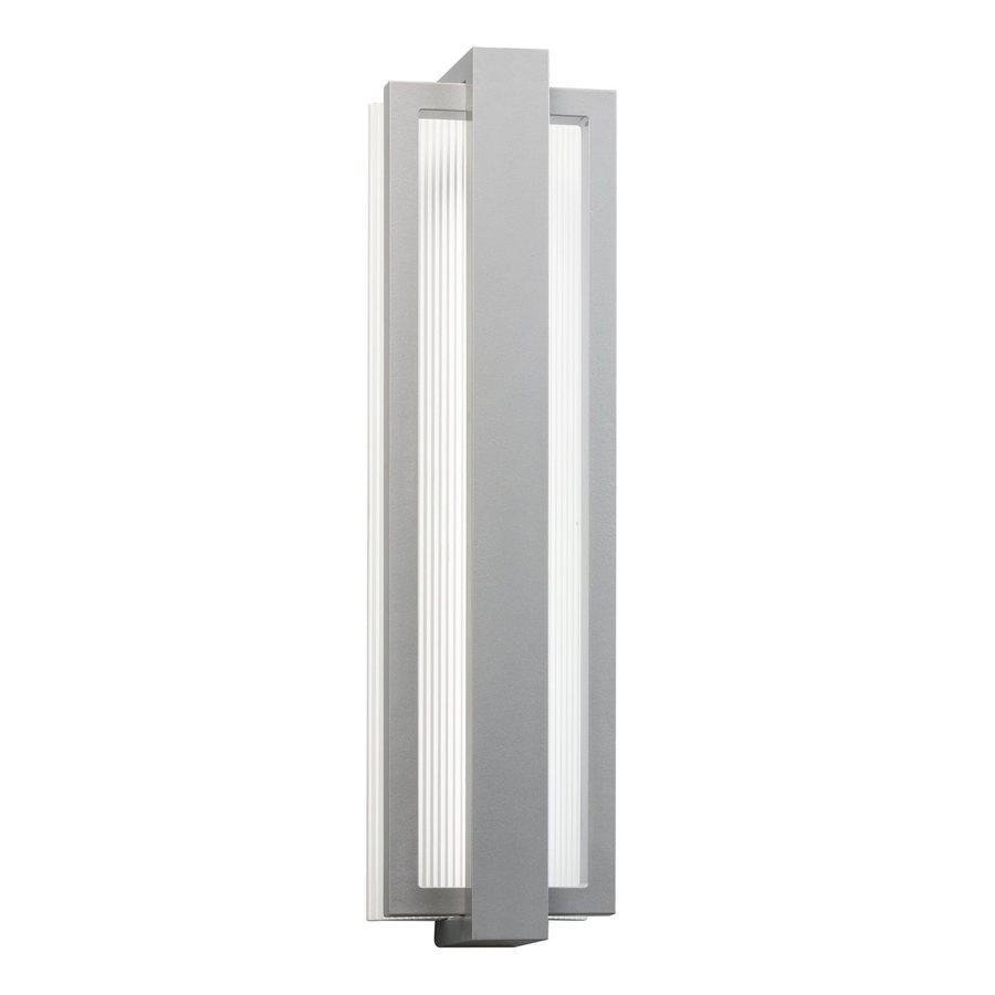 Kichler Lighting Sedo 24.25-in H LED Platinum Outdoor Wall Light