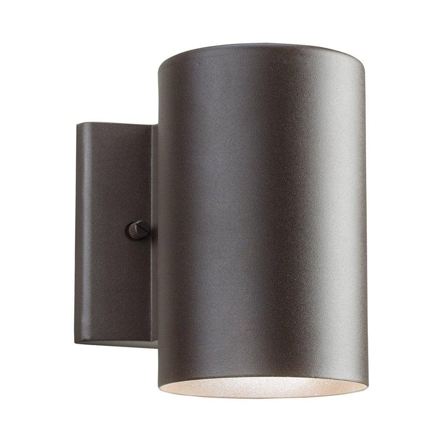 Kichler Lighting 7-in H LED Textured Architectural Bronze Dark Sky Outdoor Wall Light