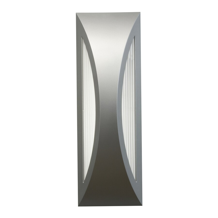 Kichler Lighting Cesya 18-in H LED Platinum Outdoor Wall Light