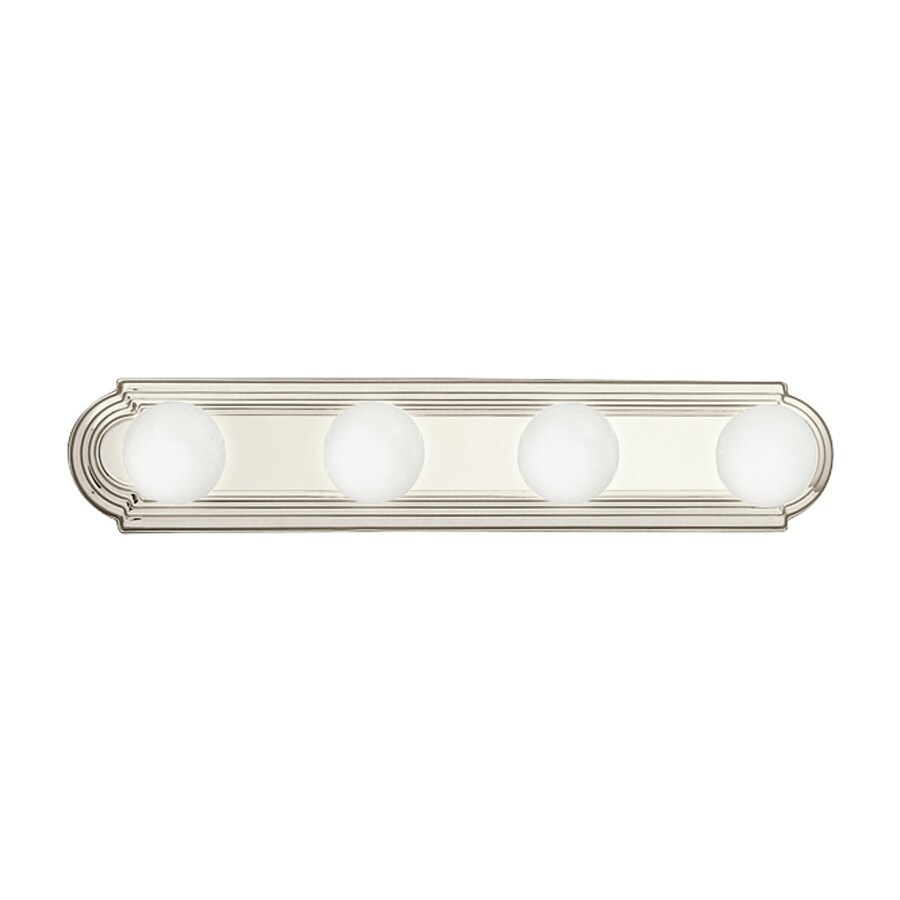 Kichler Lighting 4-Light Brushed Nickel Transitional Vanity Light