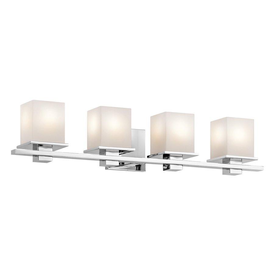 Kichler Lighting 4-Light Tully Chrome Transitional Vanity Light