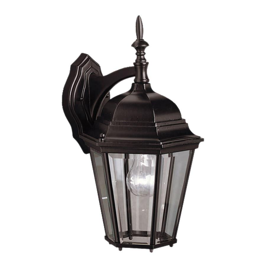 Kichler Lighting Madison 17-in H Black Outdoor Wall Light