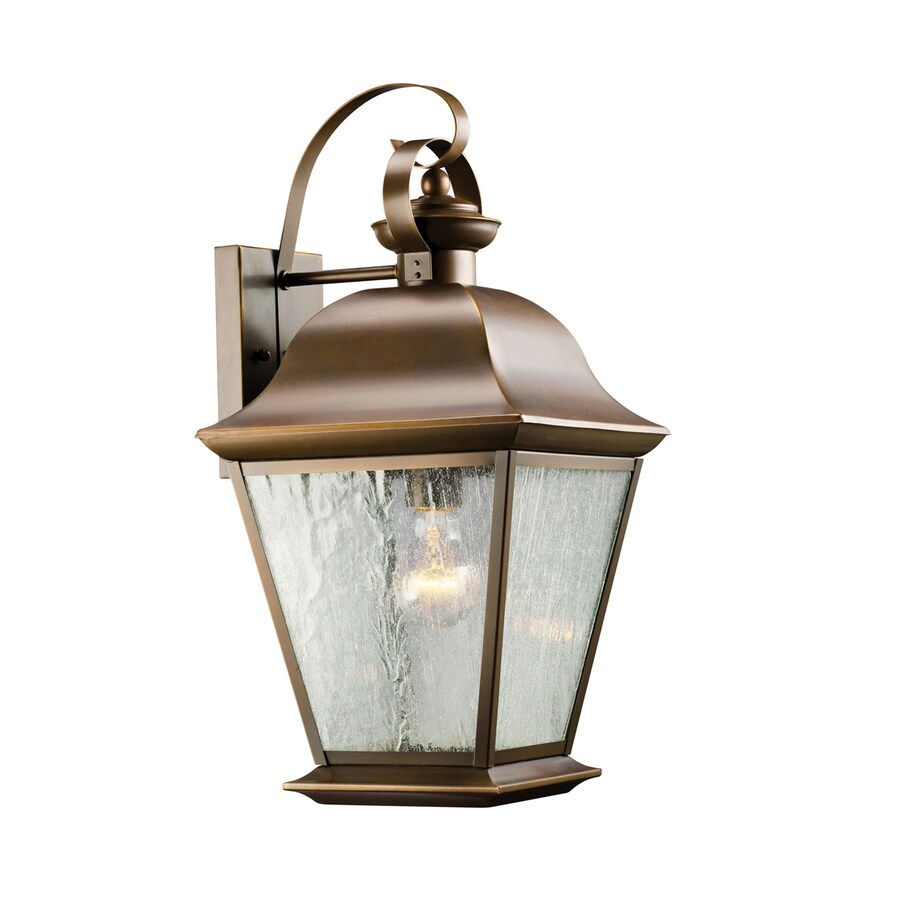 Kichler Lighting Mount Vernon 19.5-in H Olde Bronze Outdoor Wall Light
