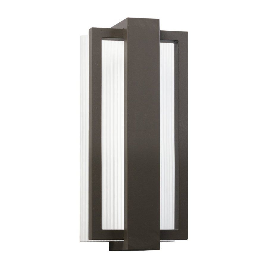 Kichler Lighting Sedo 12.25-in H LED Architectural Bronze Outdoor Wall Light