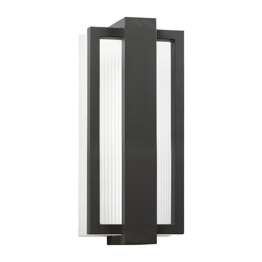 Kichler Lighting Sedo 12.25-in H LED Satin Black Outdoor Wall Light