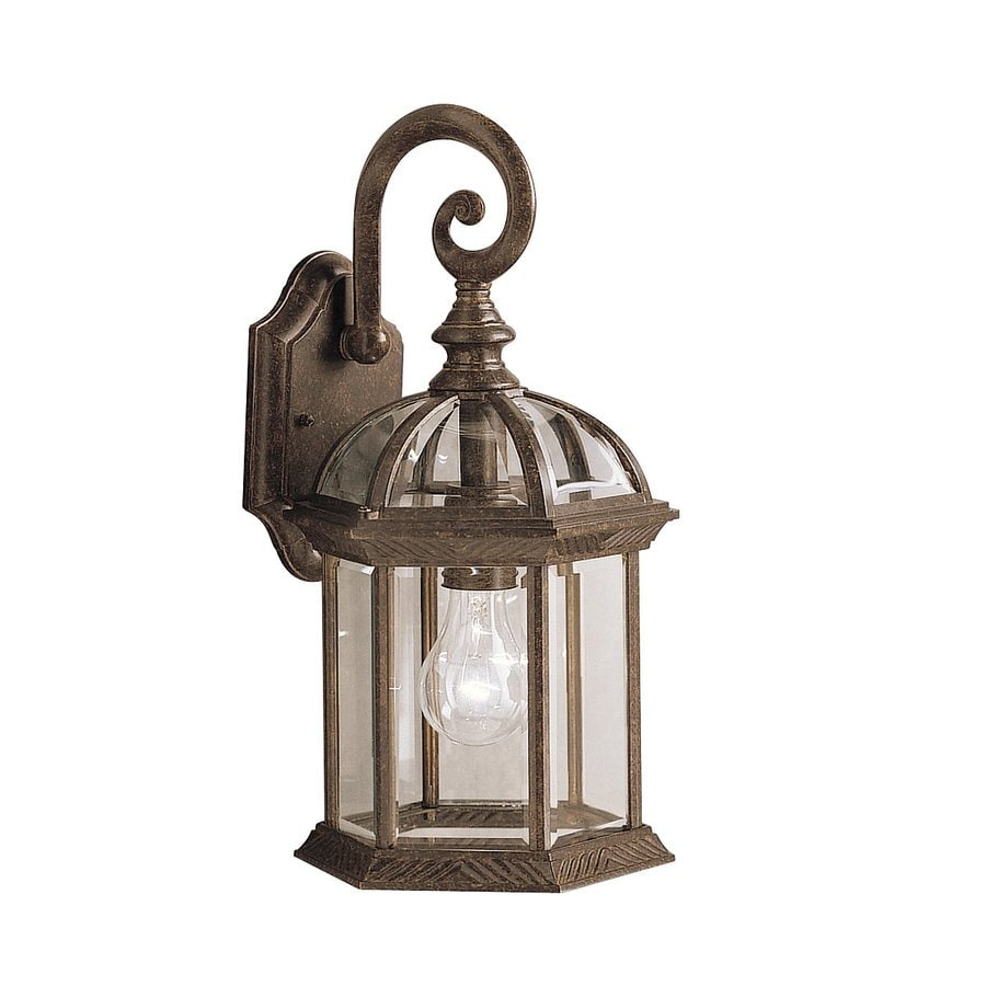 Kichler Lighting Barrie 15.5-in H Tannery Bronze Outdoor Wall Light