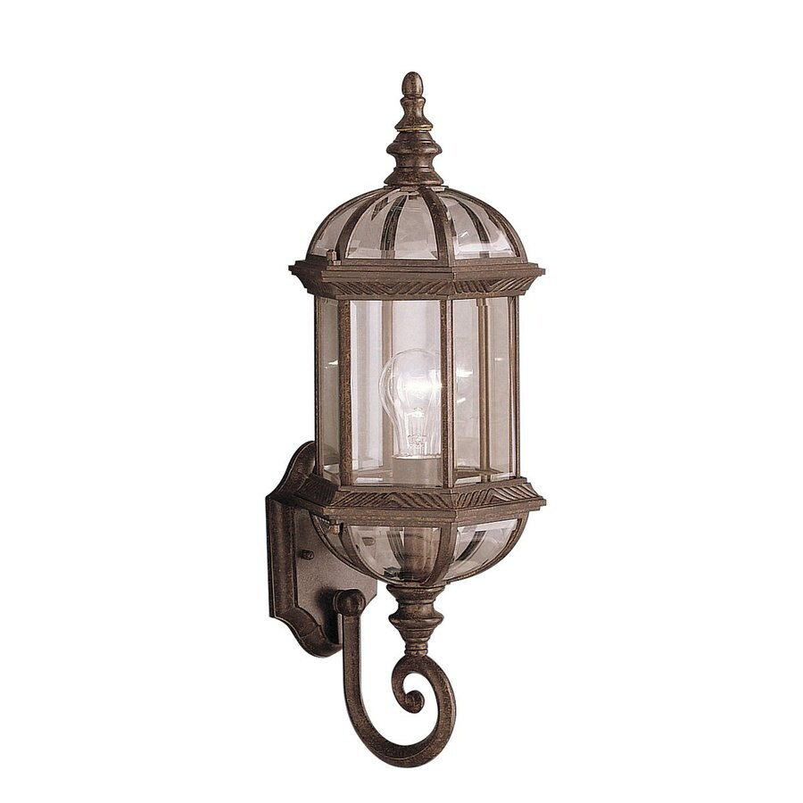 Kichler Lighting Barrie 21.75-in H Tannery Bronze Outdoor Wall Light