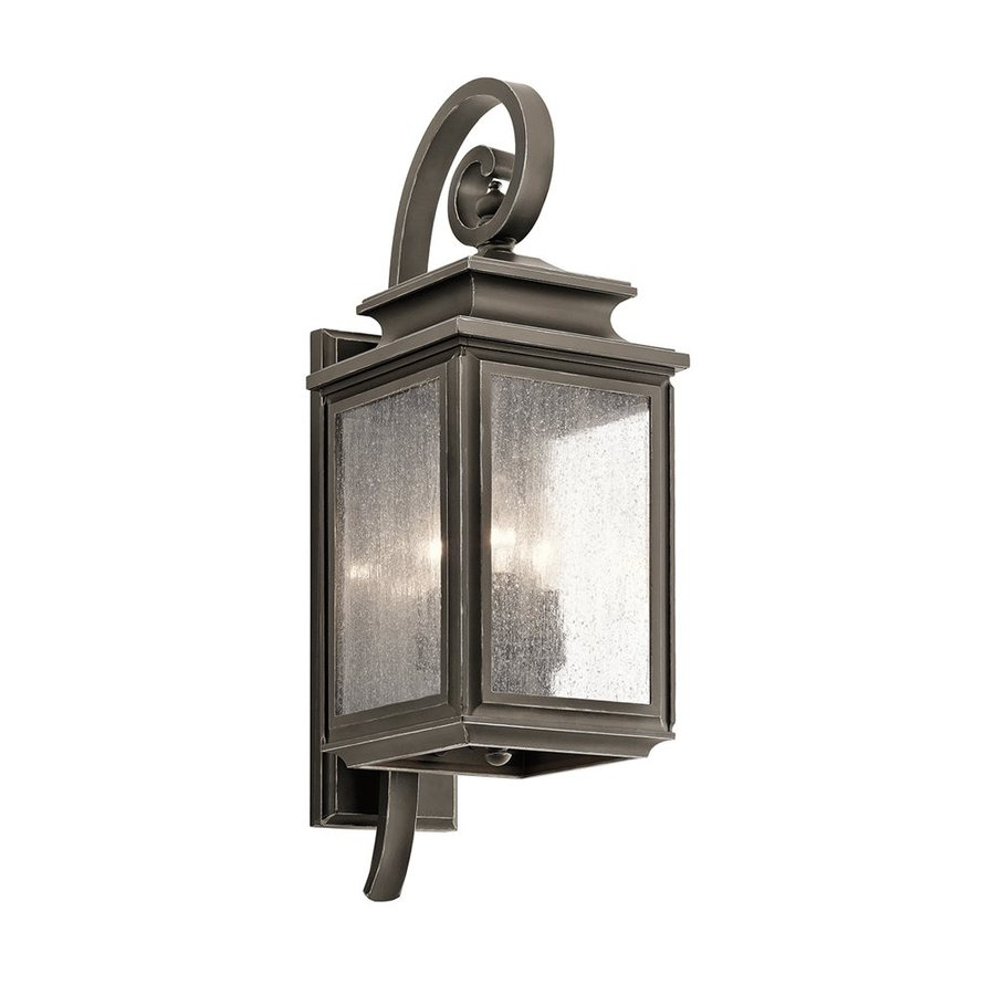 Kichler Lighting Wiscombe Park 21.75-in H Olde Bronze Outdoor Wall Light