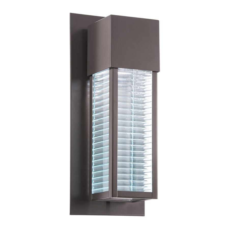 Kichler Lighting Sorel 16-in H LED Architectural Bronze Outdoor Wall Light