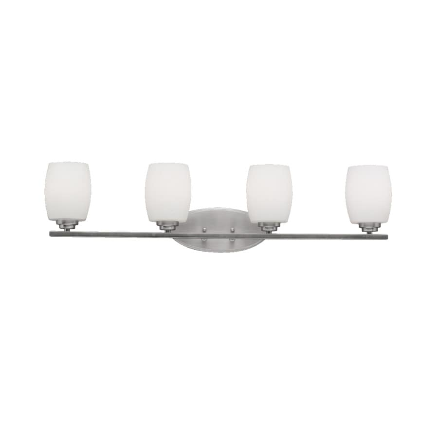 Kichler Lighting 4-Light Eileen Brushed Nickel Modern Vanity Light