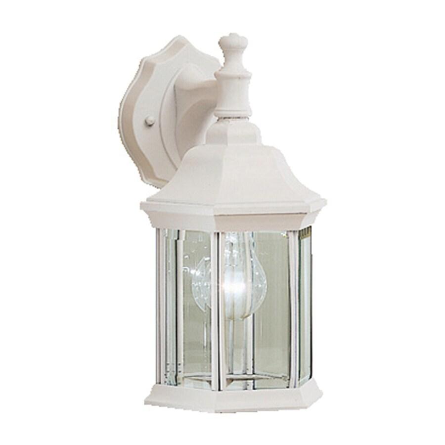 Kichler Lighting Chesapeake 11.75-in H White Outdoor Wall Light