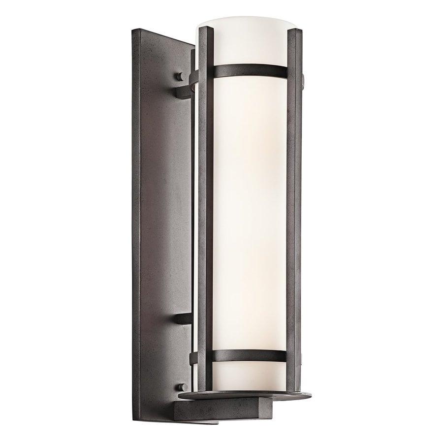 Kichler Lighting Camden 22.5-in H Anvil Iron Outdoor Wall Light