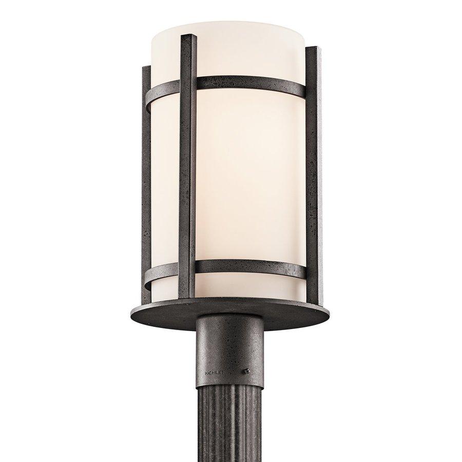 Kichler Lighting Camden 17-in H Anvil Iron Post Light