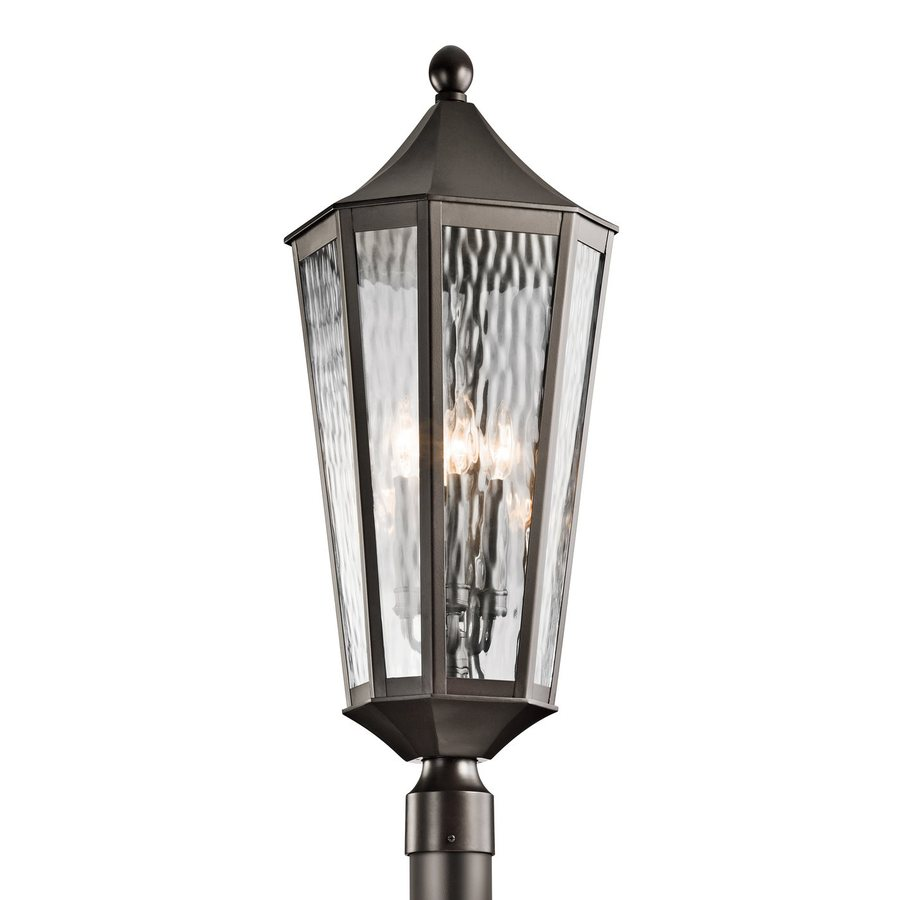 Kichler Lighting Rochdale 30.25-in H Olde Bronze Post Light