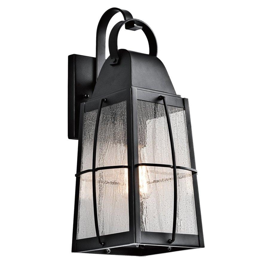 Kichler Lighting Tolerand 17.75-in H Textured Black Outdoor Wall Light