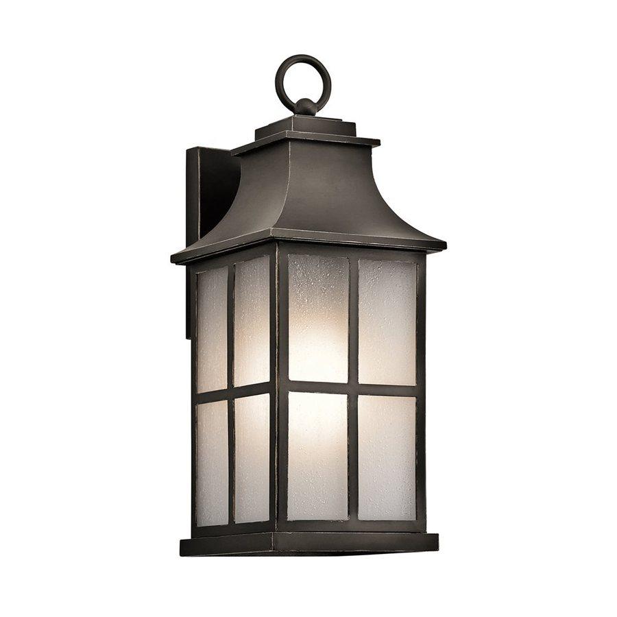 Kichler Lighting Pallerton Way 17.5-in H Olde Bronze Outdoor Wall Light