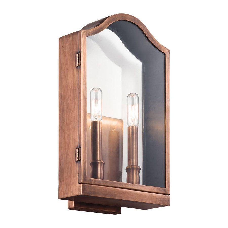 Kichler Lighting Antico 15.5-in H Olde Bronze Outdoor Wall Light