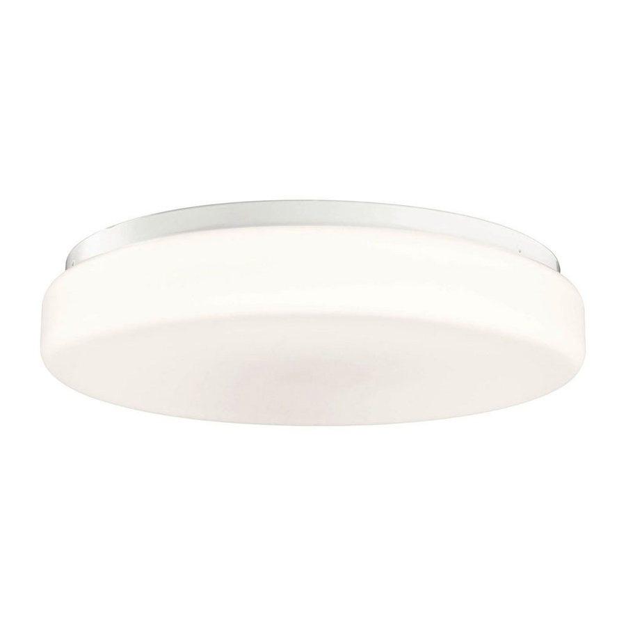 Kichler Lighting White Flush Mount Fluorescent Light (Common: 1.5-ft; Actual: 18.25-in)
