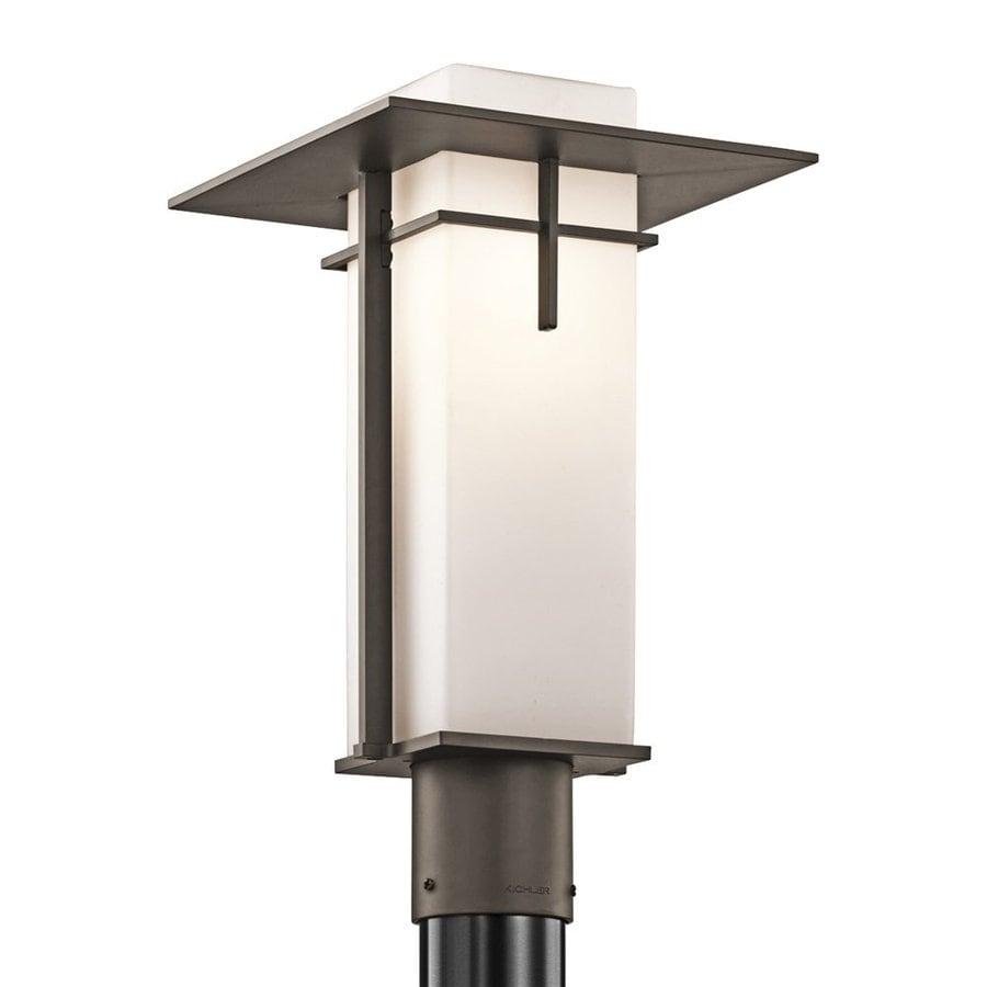 Kichler Lighting Caterham 16.75-in H Olde Bronze Post Light