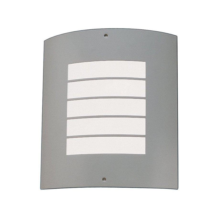 Kichler Lighting Newport 10.25-in H Brushed Nickel Outdoor Wall Light