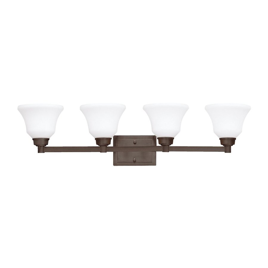 Kichler Lighting 4-Light Langford Olde Bronze Transitional Vanity Light