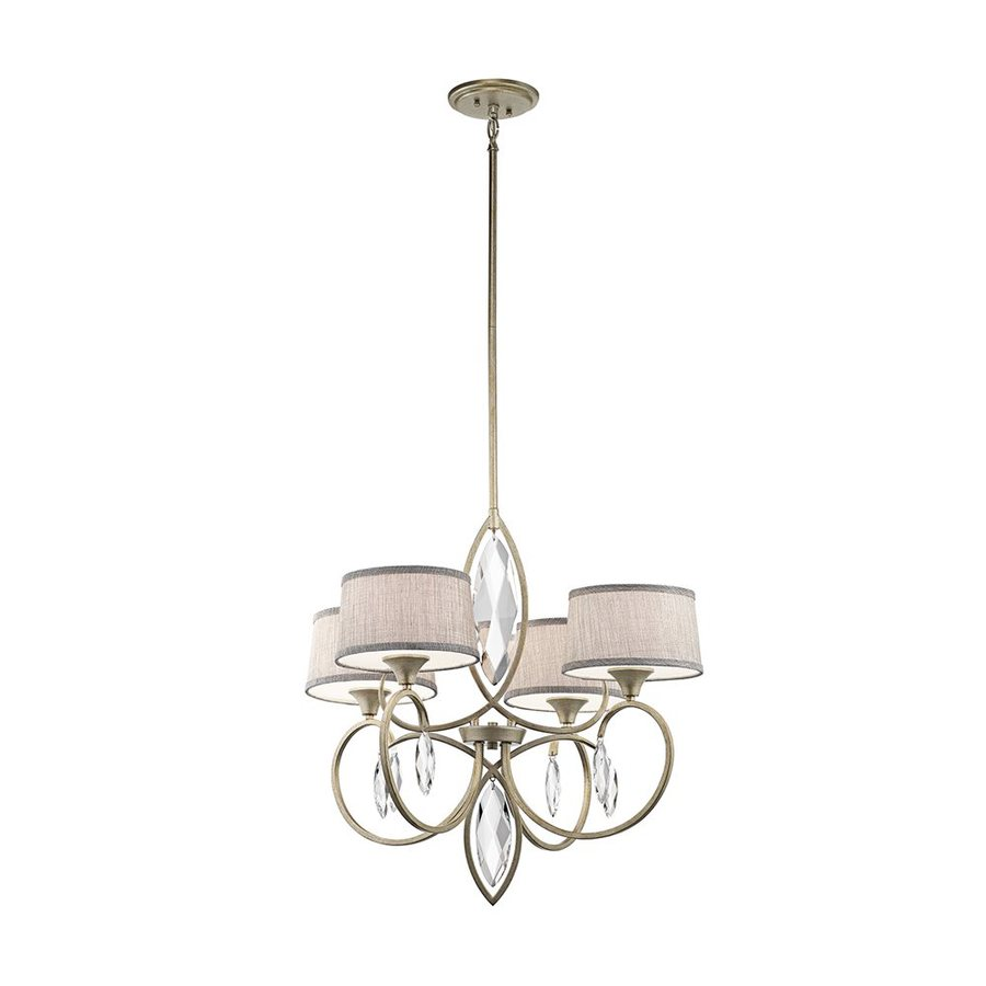 Shop Kichler Casilda  Light Sterling Gold Crystal