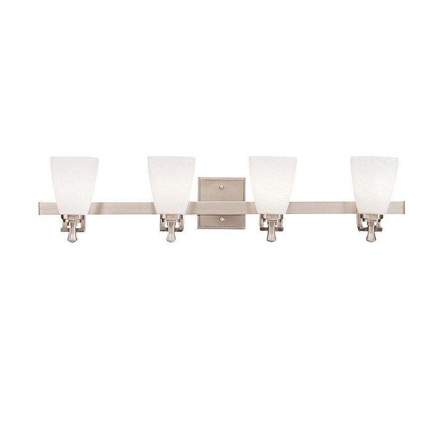 Kichler Lighting 4-Light Uptown Brushed Nickel Modern Vanity Light