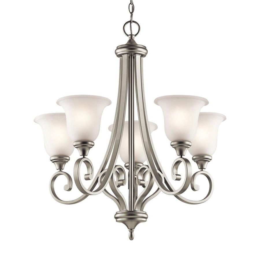 Shop Kichler Lighting Monroe 27 5 In 5 Light Brushed